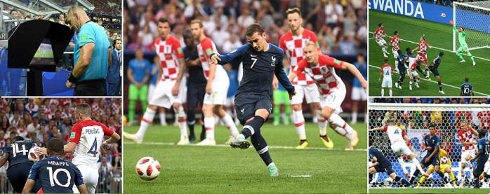 France vs Croatia Highlights
