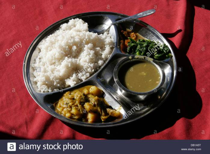 dal-bhat-rice-with-lentil-soup-and-curry-vegetables-typical-nepali-DB1A5T